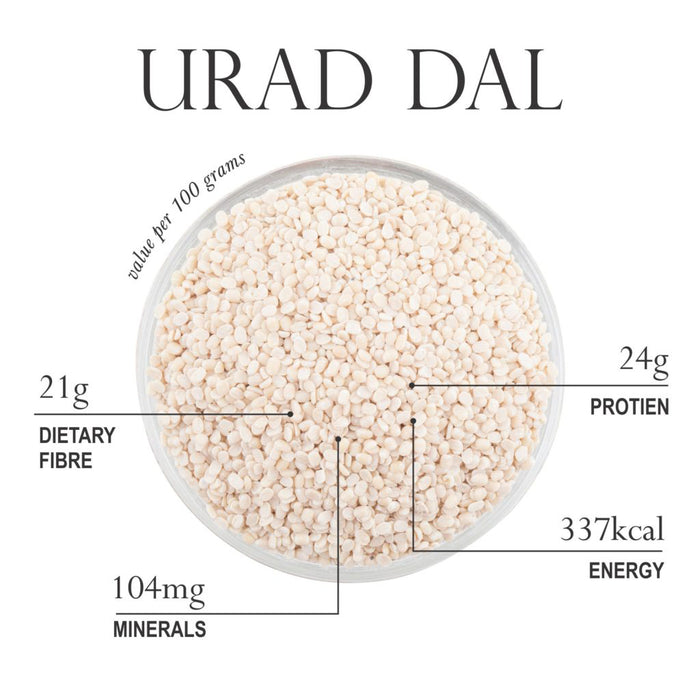 Urad Dal Whole - Uluntham Paruppu 500g-24Mantra