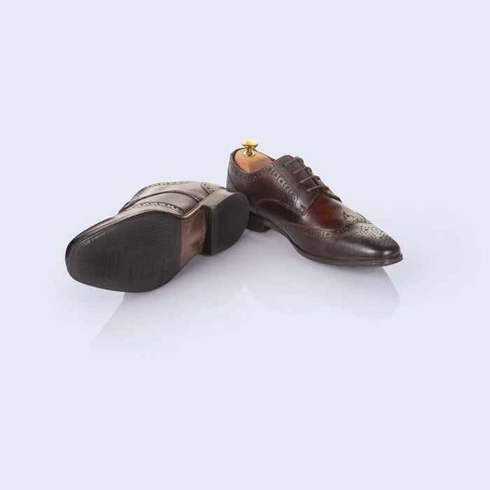 Timber Formal Lace Shoes - Wintage Brown