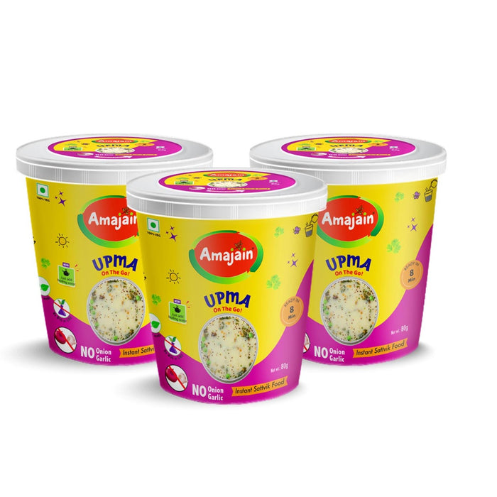 Amajain Instant Upma Pack of 3