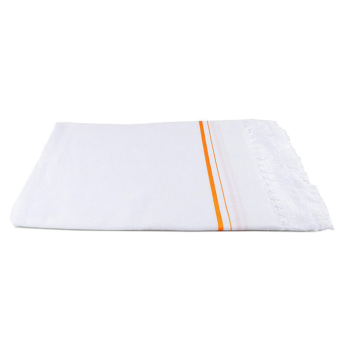 White Cotton Towels Set of 2