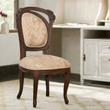 Jass Dining Chair in teak finish