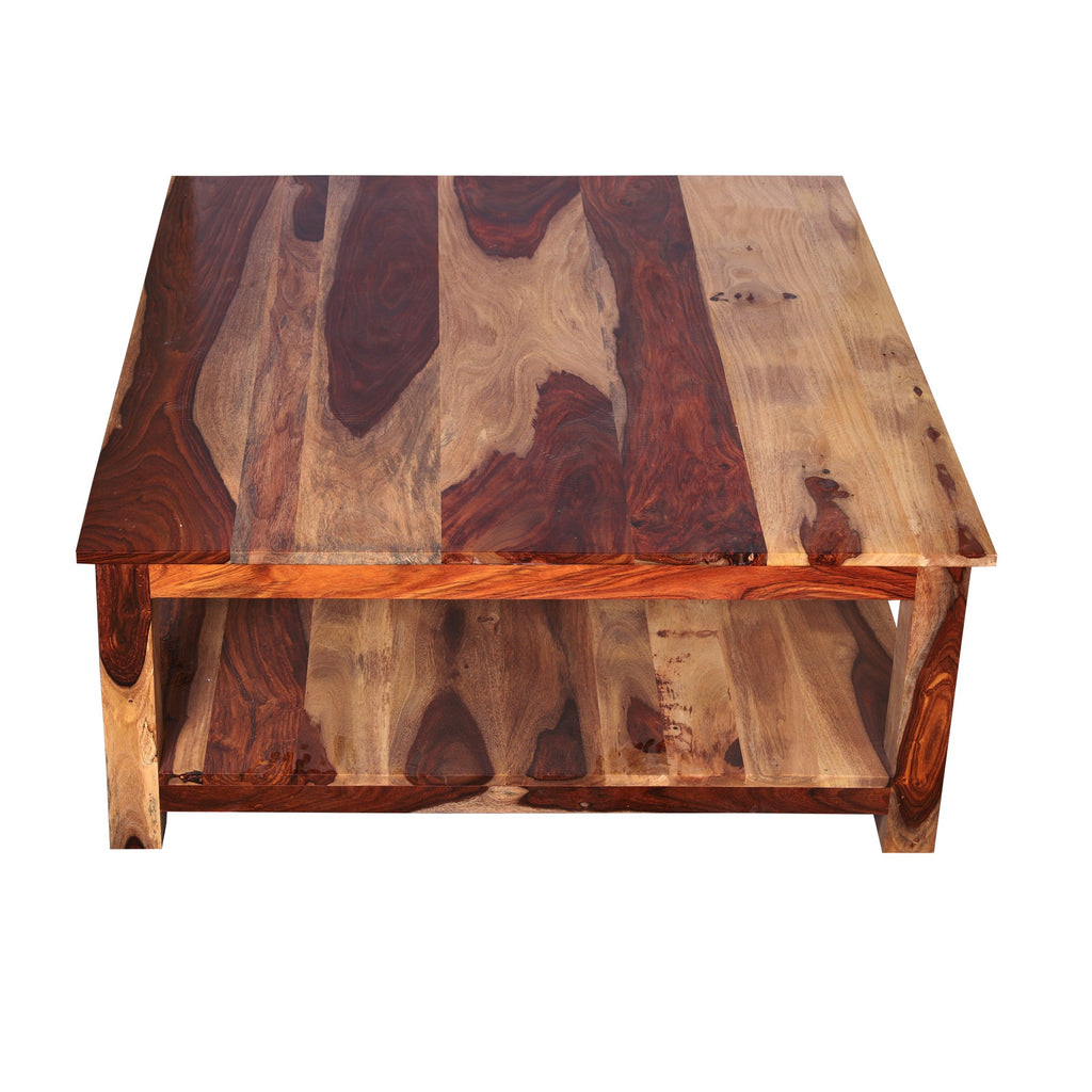Silsden Solid Wood Center cum Coffee Table - Woodcrony
