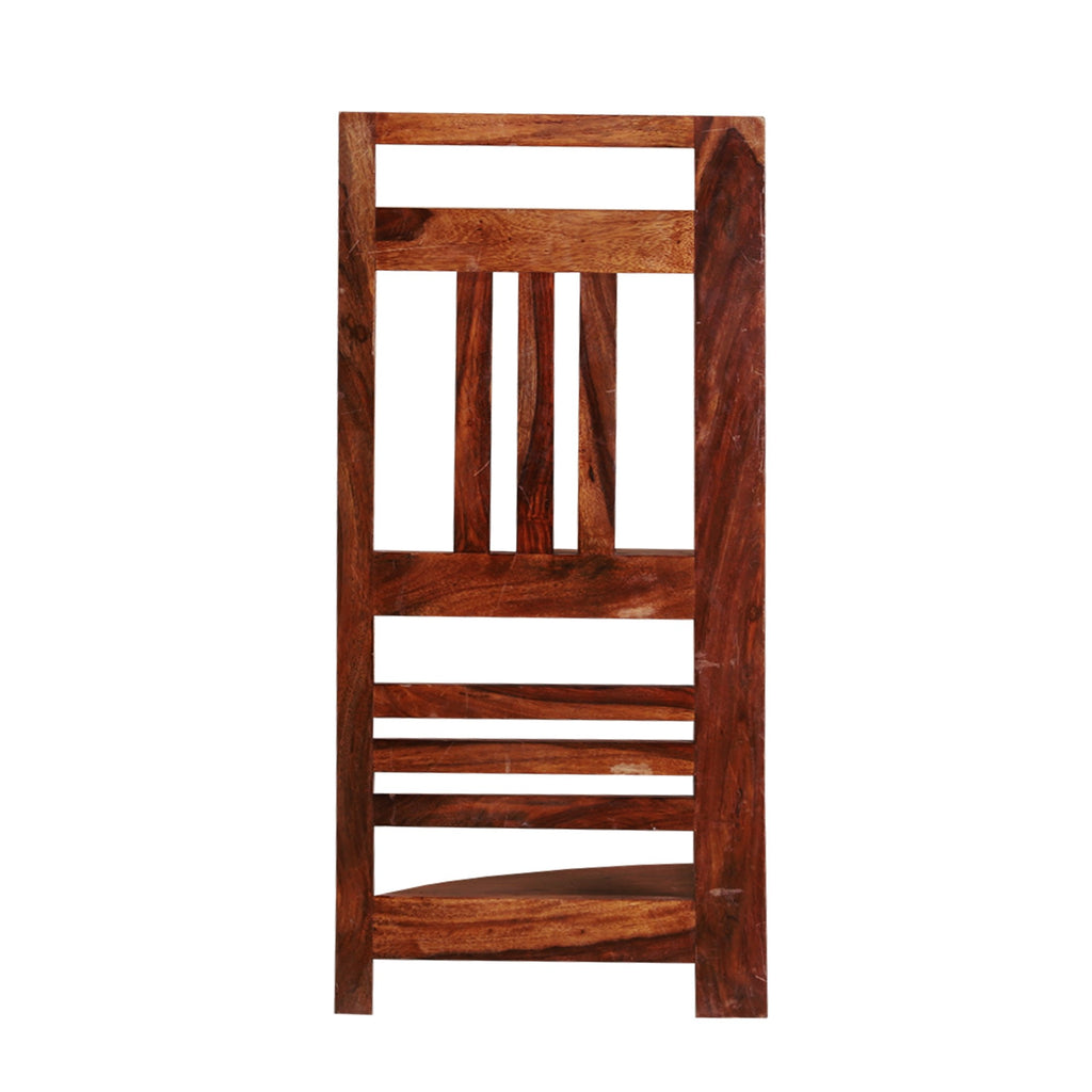 Strood Solid Wood Three Tier End Table - Woodcrony