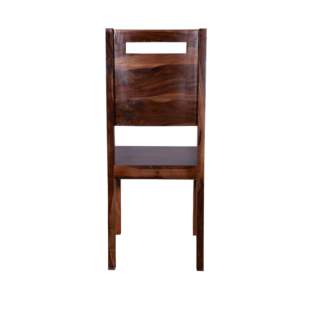 Silas wooden back Dining Chair - Woodcrony