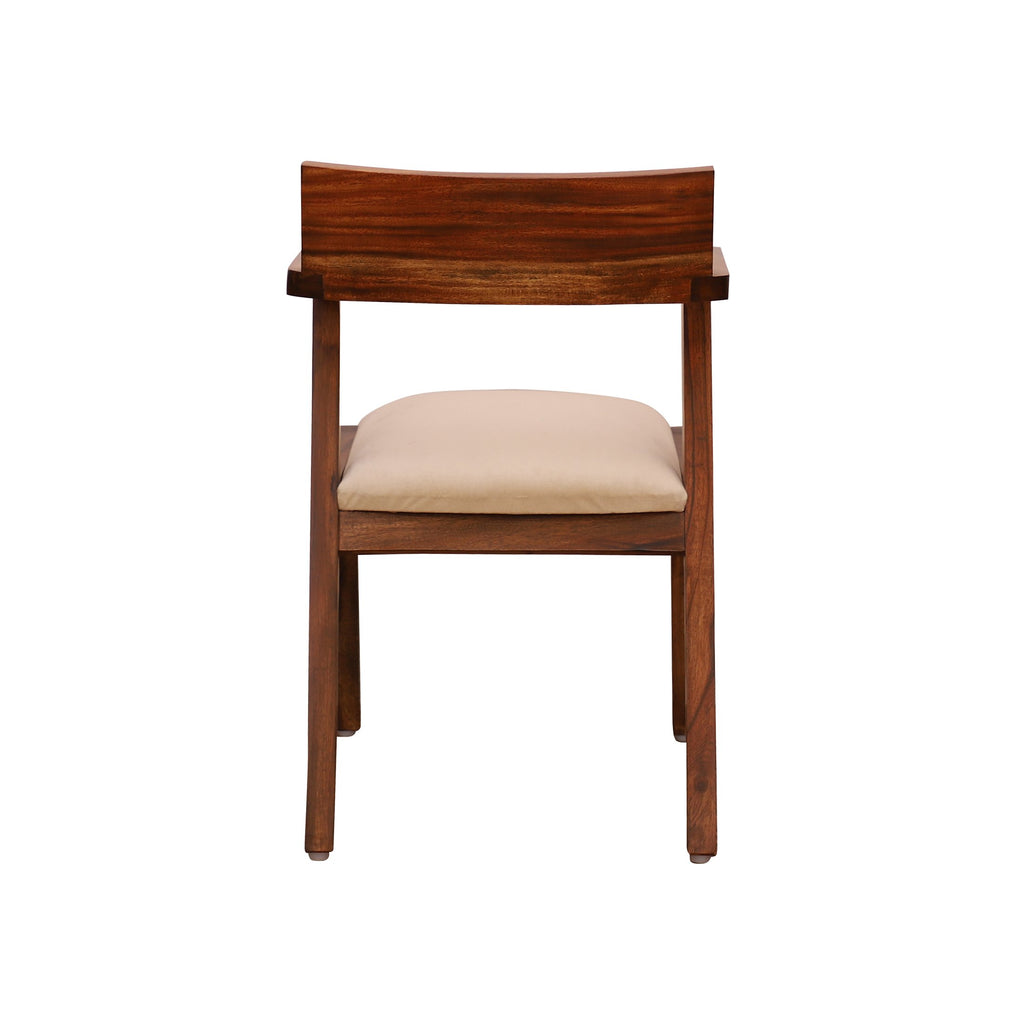 Armor Arm Chair in teak finish - Woodcrony