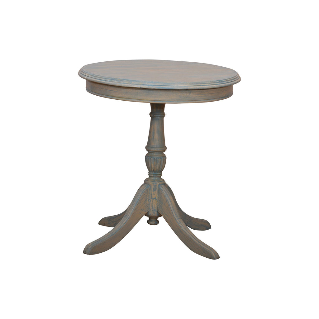 Alard Accent Tables in white ash finish - Woodcrony