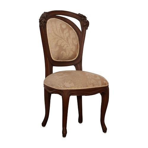 Jass Dining Chair in teak finish - Woodcrony