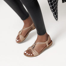 Load image into Gallery viewer, Fashion Roman Flat Sandals