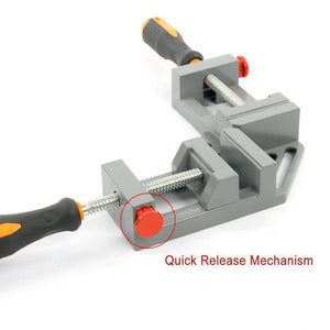 DOMOM 90 Degree Right Angle Clamp Woodworking Adjustable Bench Vise Tool