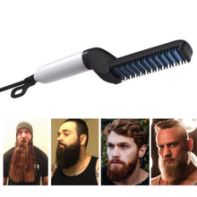 Load image into Gallery viewer, Beard Straightening Comb  &  All in One Styler