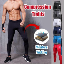 Load image into Gallery viewer, Men's Performance Compression Tights