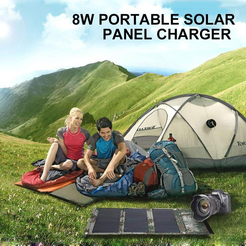 8W Portable Solar Panel Charger