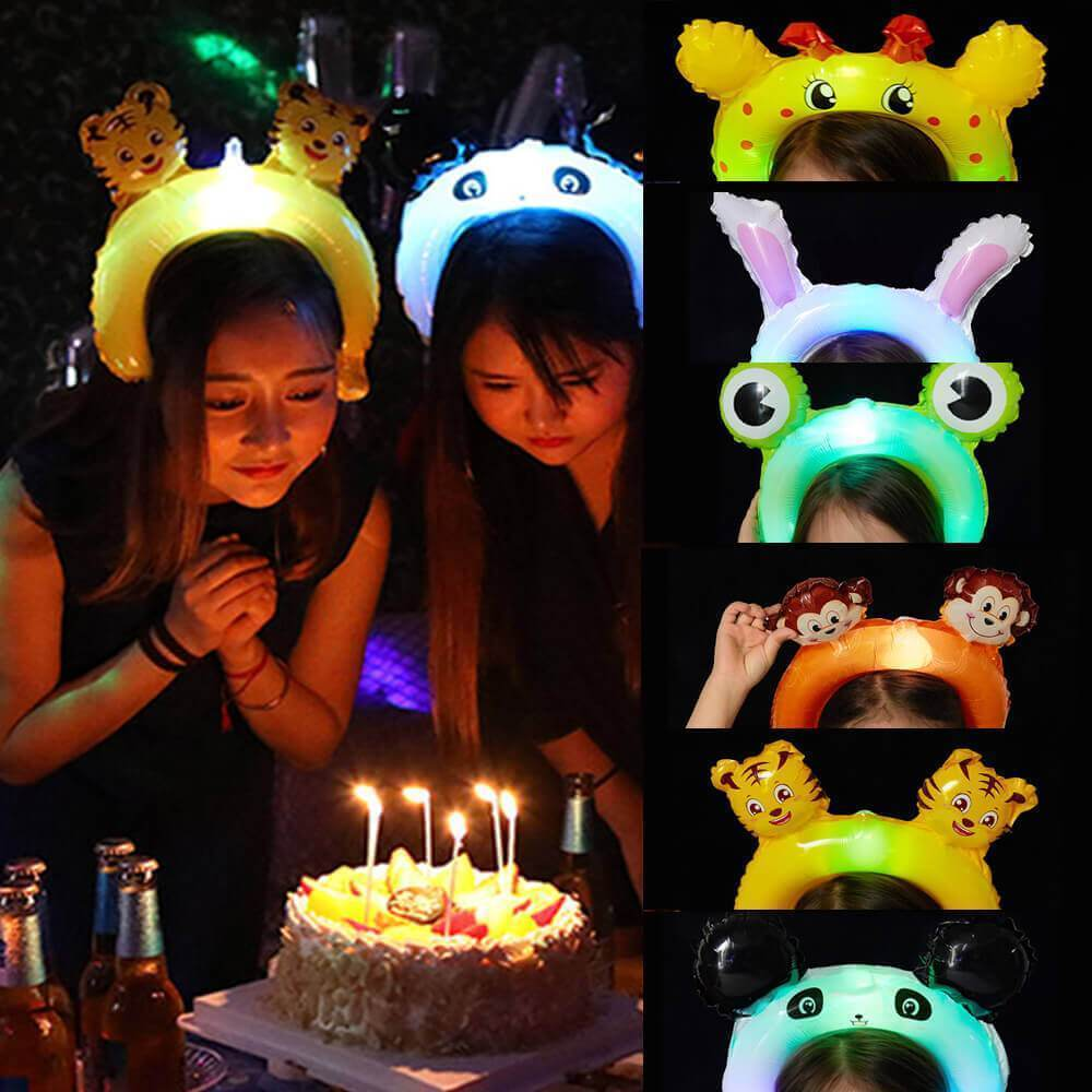 Glowing balloon headband(3 pcs )