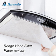 Load image into Gallery viewer, Hirundo Clean Cooking Nonwoven Range Hood Grease Filter Paper