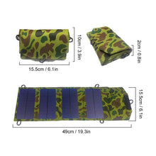 Load image into Gallery viewer, 8W Portable Solar Panel Charger