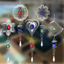 Load image into Gallery viewer, 3D Rotating Wind Chime