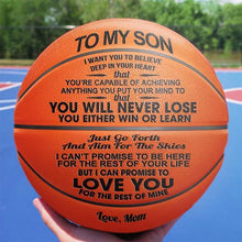 Load image into Gallery viewer, Mom to Son - You Will Never Lose - Basketball