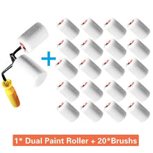 Load image into Gallery viewer, Roll All Hand-held Dual-paint Roller