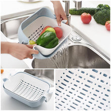 Load image into Gallery viewer, 3 in 1 Water Saving Balanced Colander