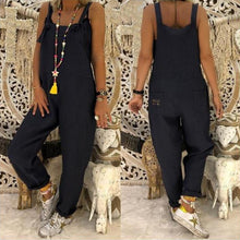 Load image into Gallery viewer, Casual Jumpsuits Overalls Baggy Bib Pants Plus Size