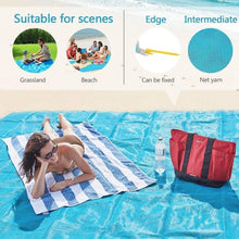 Load image into Gallery viewer, Hirundo Sand Free Beach Mat Blanket