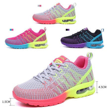 Load image into Gallery viewer, ChainSee Women Fashion Multicolor Breathable Comfortable Athletic Sport Shoes Sneakers Running Shoes