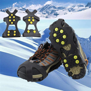 Outdoor Ice Traction & Non-Slip Shoe Covers