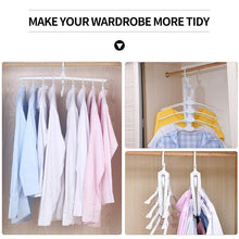 Load image into Gallery viewer, 8 In 1 Multifunctional Folding Hanger For Space Saving