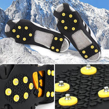 Load image into Gallery viewer, Outdoor Ice Traction & Non-Slip Shoe Covers