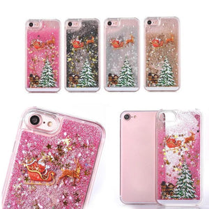 Flash Powder Mobile Phone Case