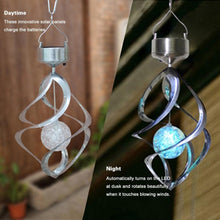 Load image into Gallery viewer, Hirundo Magic Shining Solar Wind Chime