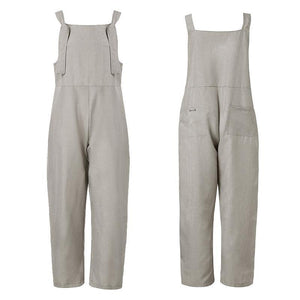 Casual Jumpsuits Overalls Baggy Bib Pants Plus Size