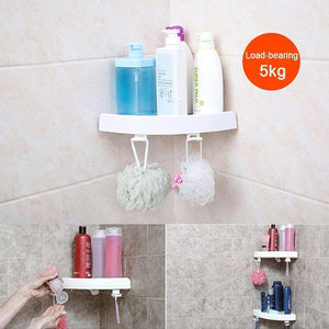 Multi-functional Corner Shelf No Screws