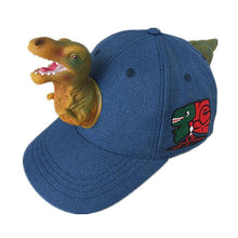 Load image into Gallery viewer, 3D Tyrannosaurus Cap