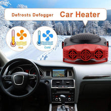 Load image into Gallery viewer, 150W Portable Car Heater Defrosts Defogger