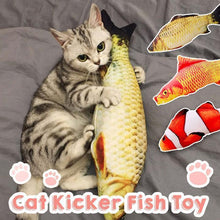 Load image into Gallery viewer, Catnip fish toy
