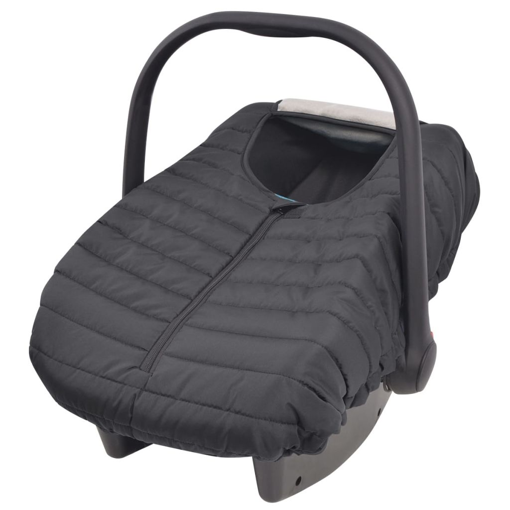 Litedpot Baby Carrier/Car Seat Cover 57x43 cm Black