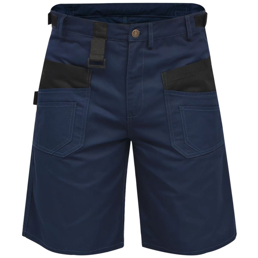 Litedpot Men's Work Short Pants Size L Blue