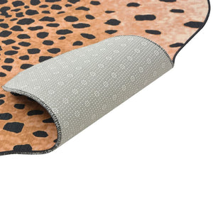 Litedpot Shaped Rug 150x220 cm Cheetah Print