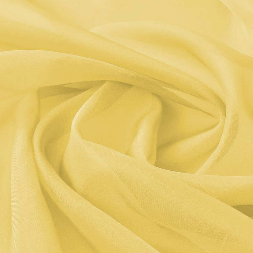 Litedpot Voile Fabric 1.45x20 m Yellow