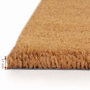 Litedpot Doormat Coir 17 mm 100x200 cm Natural