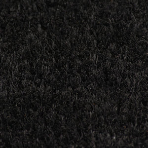 Litedpot Doormat Coir 24 mm 100x200 cm Black