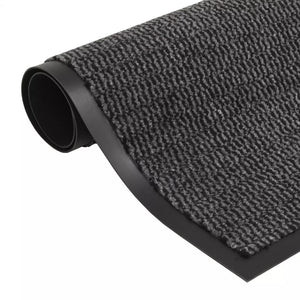 Litedpot Dust Control Mat Rectangular Tufted 40x60 cm Anthracite