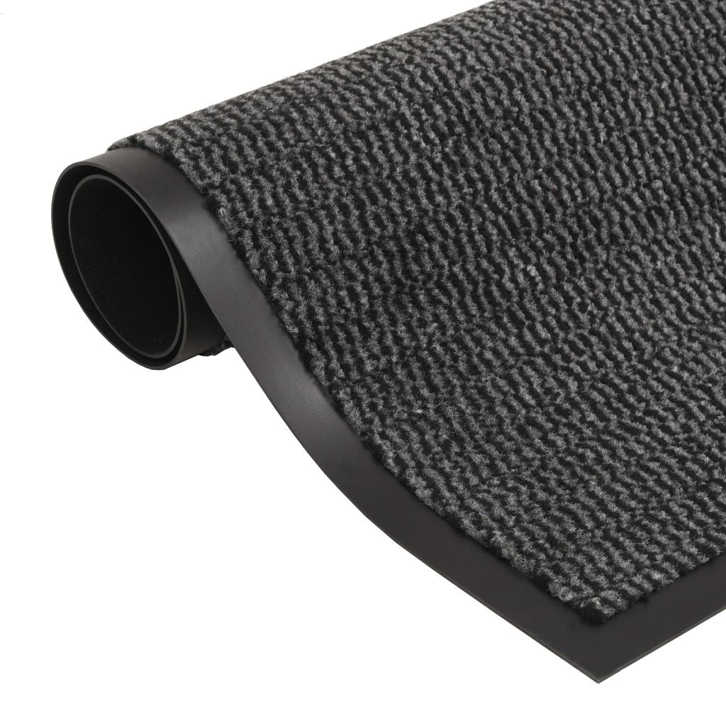 Litedpot Dust Control Mat Rectangular Tufted 60x90 cm Anthracite