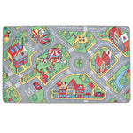 Litedpot Play Mat Loop Pile 133x190 cm City Road Pattern