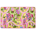 Litedpot Play Mat Loop Pile 133x190 cm Sweet Town Pattern