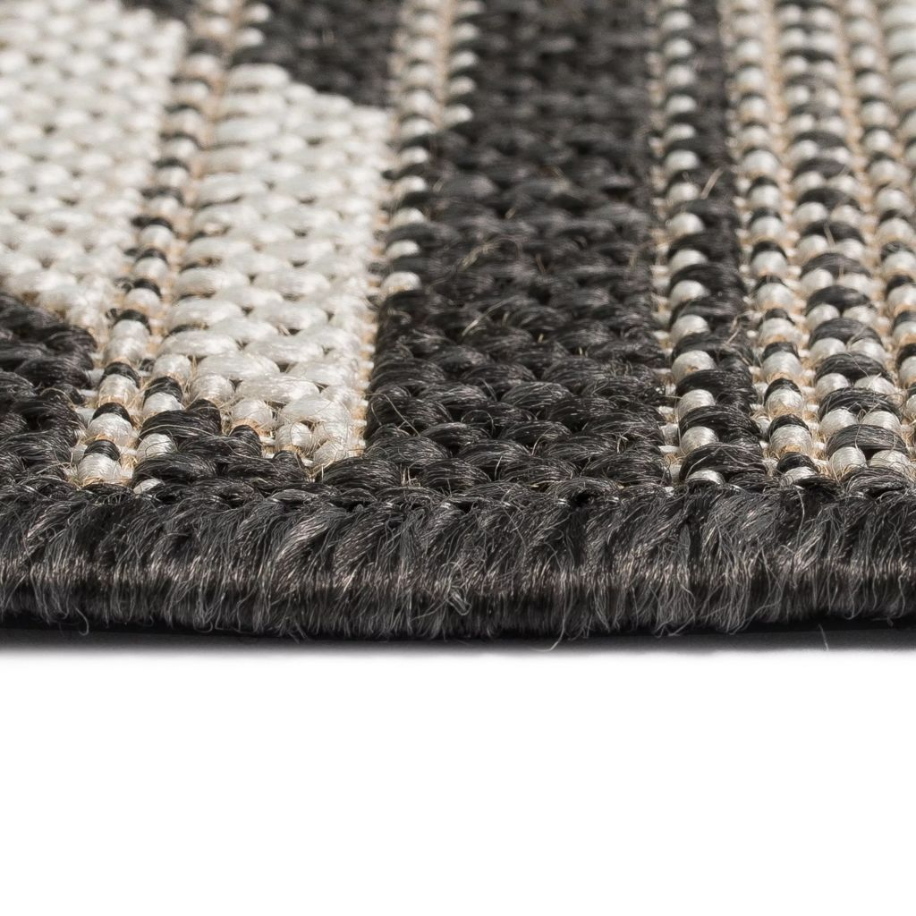 Litedpot Area Rug Sisal Look Indoor/Outdoor 80x150 cm Geometrical