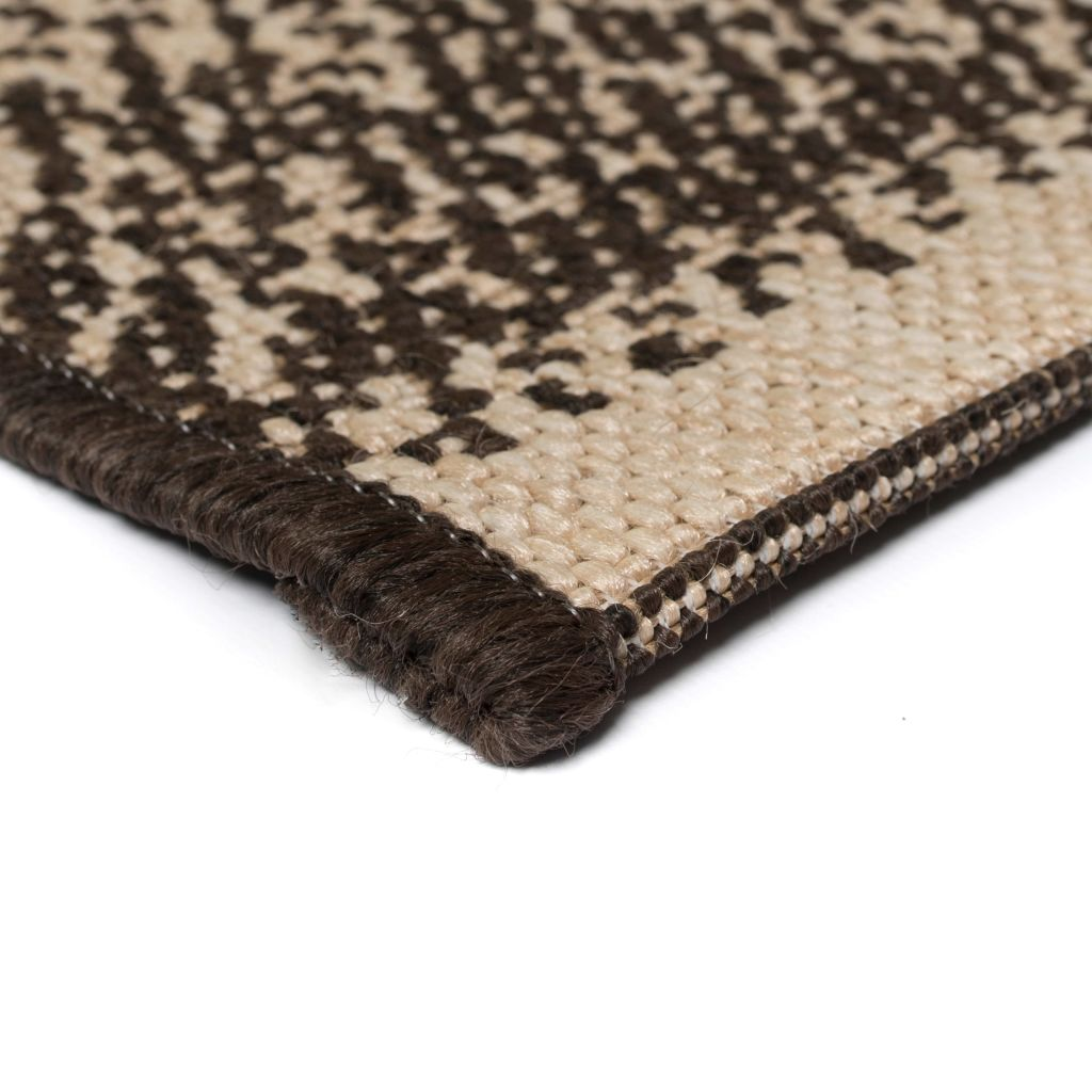 Litedpot Area Rug Sisal Look Indoor/Outdoor 160x230 cm Stripes