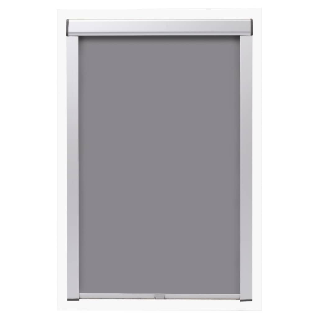 Litedpot Blackout Roller Blind Grey FK06