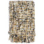 Litedpot Throw 160x210 cm Black/Beige/White